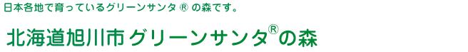 グリーンサンタ(R)の森-北海道旭川市の森